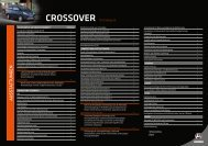 CROSSOVER technisches Datenblatt PDF - Aixam