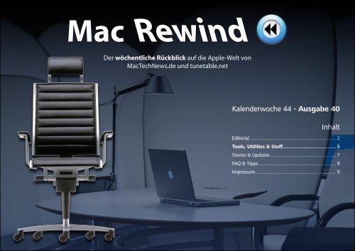 Mac Rewind - Issue 40, KW44 - MacTechNews.de - Mac Rewind