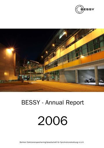 BESSY - Annual Report - Universität Paderborn