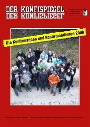 Konfizeitung Spiegel Optik - Evangelische Dietrich-Bonhoeffer ...