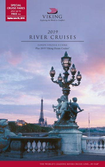 2019 River Cruises (June 2018 - Canada)