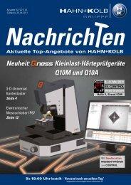 Nachrich en Telefon-Bestellservice - Hahn +Kolb Werkzeuge GmbH