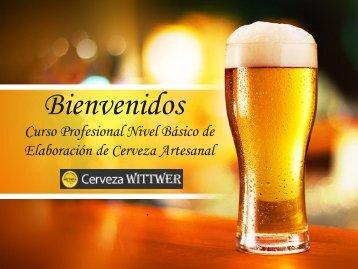 Presentación Curso Cerveza
