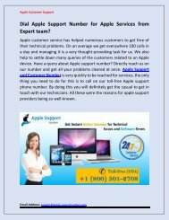 Apple Support | Find Solution from Apple Expert | Call @ +1-800-501-2708