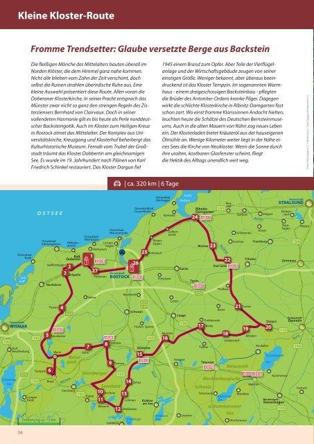 die schönsten Bauwerke - Urlaub an Ostsee und Seen ...