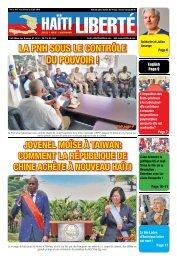 Haiti Liberte 30 Mai 2018