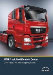 Broschüre MAN Truck Modification Center (2 MB PDF