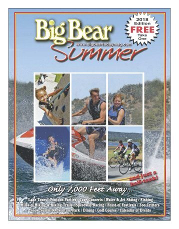 Big Bear Summer Magazine 2018