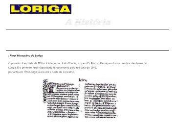 A História de Loriga pelo historiador António Conde no site da Casa da Ponte do Arrocho