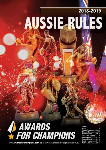 A&R AFL 2018