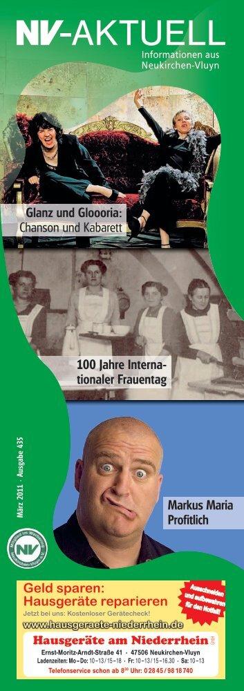 100 Jahre Interna tionaler Frauentag - Werbering Neukirchen-Vluyn