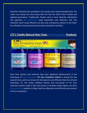 Lice Prevention Kit