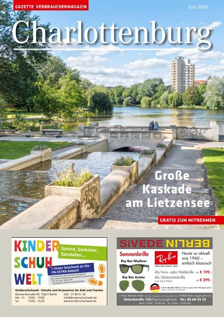 Gazette Charlottenburg Juni 2018