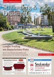 Gazette Schöneberg & Friedenau Juni 2018
