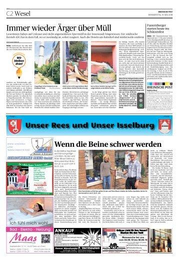 Unser Rees und Unser Isselburg  -31.05.2018-