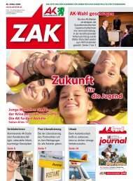 Zak Mai 09 (pdf 1,7 mb) - Arbeiterkammer