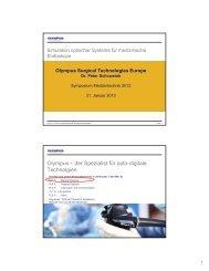 Simulation optischer Systeme für medizinische Endoskope.
