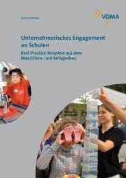 Unternehmerisches Engagement - Schule