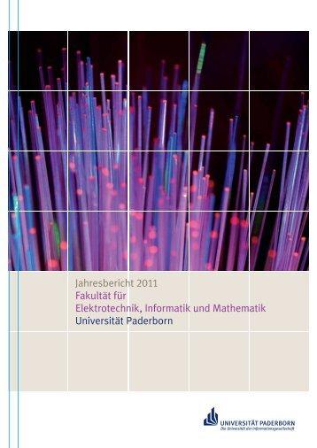 ahresbericht 2011 der Fakultät EIM - Universität Paderborn: ONT