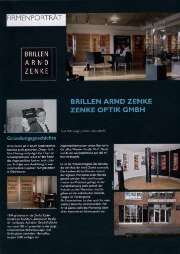 """Download Pressebericht """"Brillen Arnd Zenke"""""""