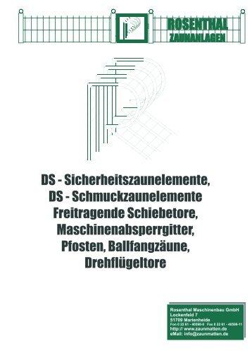 schmuckzaun - bei Rosenthal Zaunanlagen