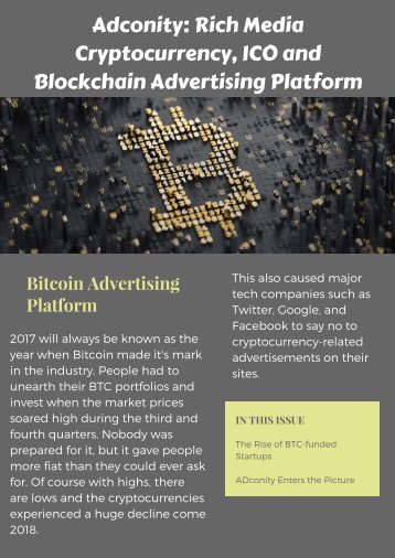 Adconity | Blockchain Advertising Network