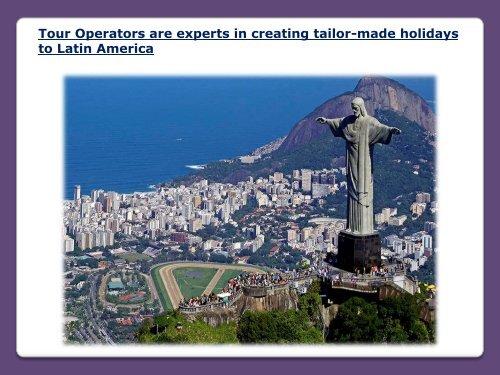 Tailor-Made Holidays to Latin America