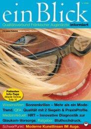 einBlick - Ausgabe 03/2009 - QFA