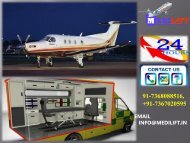 Quick Booking an Advanced and Hi-Tech Medical ICU Air Ambulance Services in Coimbatore