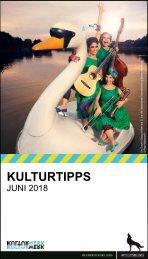 KulturTipps Juni 2018