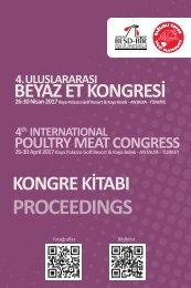 4. Uluslararası Beyaz Et Kongresi