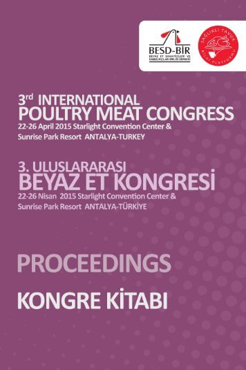 3rd International Poultry Meat Congress
