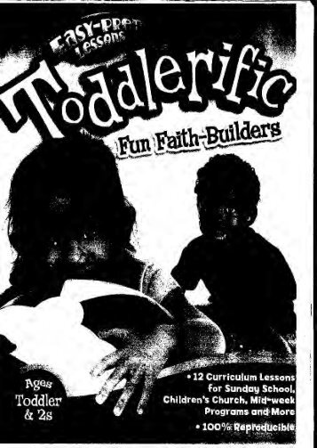 Toddlerific Vol 1