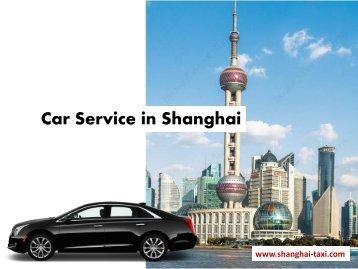 Car Hire in Shanghai