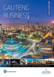 Gauteng Business 2018-19 edition