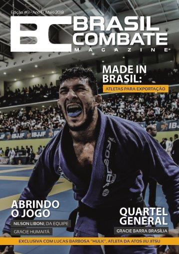 BRASIL COMBATE MAGAZINE | EDIÇÃO #3 | MAIO 2018