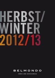 BELMONDO HERBST/WINTER 2012/13 1 B E LM O N D O Lookb ...