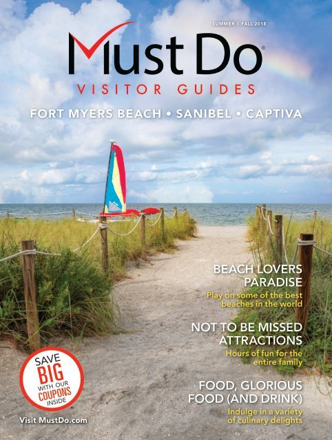 Must Do Fort Myers Visitor Guide Summer/Fall 2018