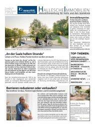 Hallesche Immobilienzeitung Ausgabe 74 Juni 2018