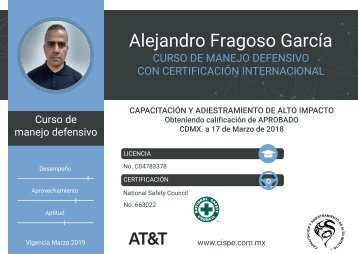 Certificado 663022