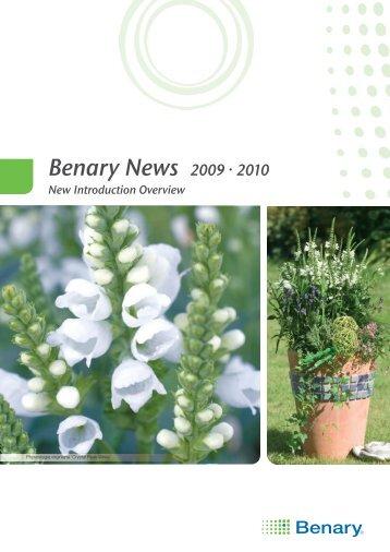 Benary News 2009 · 2010