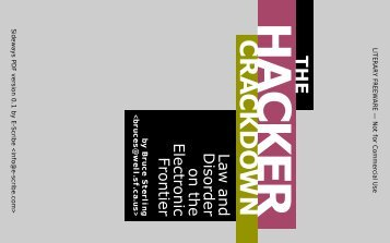 Chronology Of The Hacker Crackdown - TextFiles.com