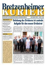 Aus dem Ortsbeirat - Gewerbeverein Bretzenheim