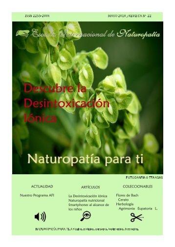 Revista Naturopatia para ti  num 22