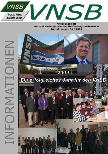 sitzenden Engelbert Janßen zur Landesverbands - VNSB