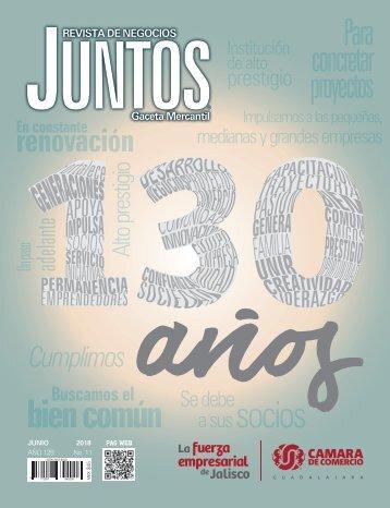 Juntos Gaceta Mercantil - Junio 2018