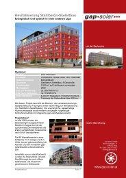 Revitalisierung Stahlbeton-Skelettbau - SWAP (Sachsen) GmbH