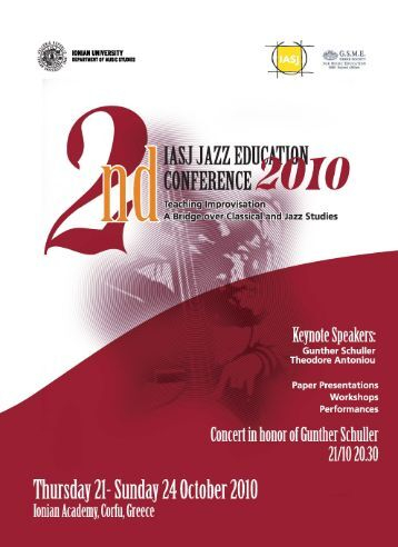 Abstracts Book Jazz Conf