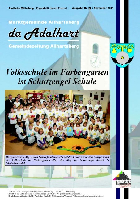 MITRADLN - 10 Gemeinden, 1 Treffpunkt - Allhartsberg