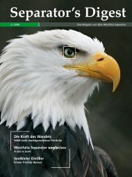 eagleclass - GEA Westfalia Separator Group